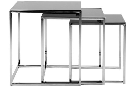 Designerskie stoliki 3 Silver