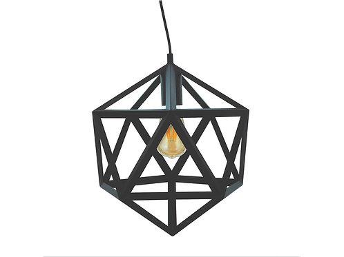 Metalowa wisząca lampa - Gothic