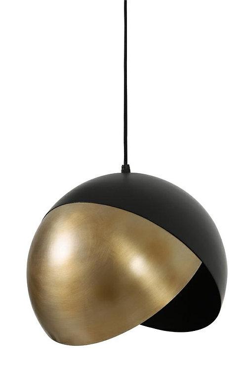 Lampa Monaco 2 czarna/antyczny brąz 30 cm