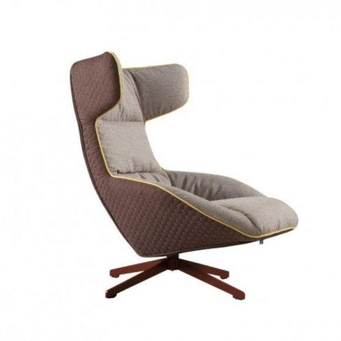 Fotel szary Luxury Bella 33