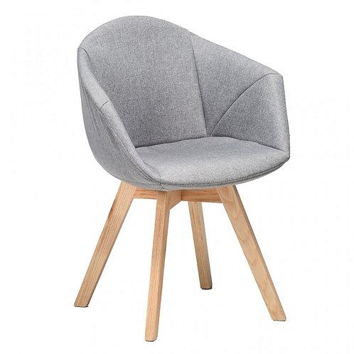 Krzesło szare tapicerowane  Toronto 44