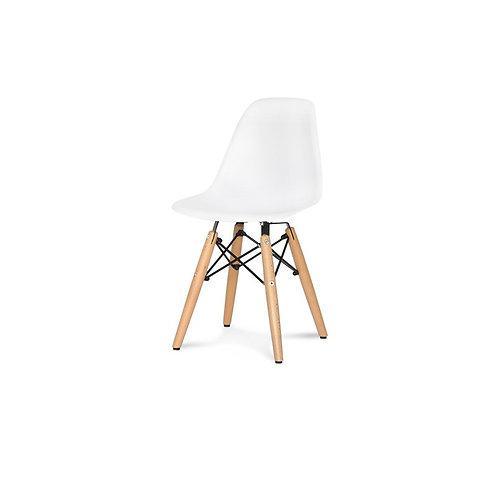 Krzesło dziecięce białe  - Charles