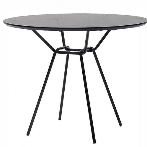 Stół okrągły czarny Bristol