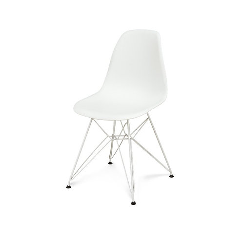 Krzesło Charles White Metal