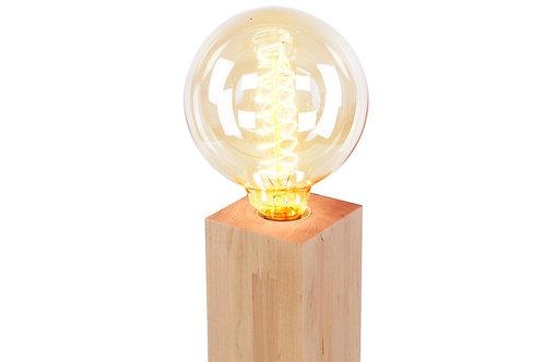 Lampa stołowa drewniana 10 cm