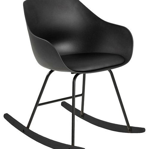 Fotel bujany czarny Roni 33