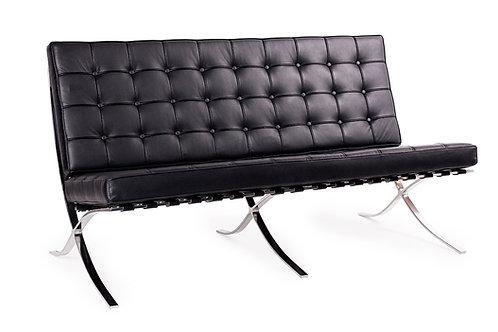 Sofa z naturalnej skóry - Barcelona 2os.