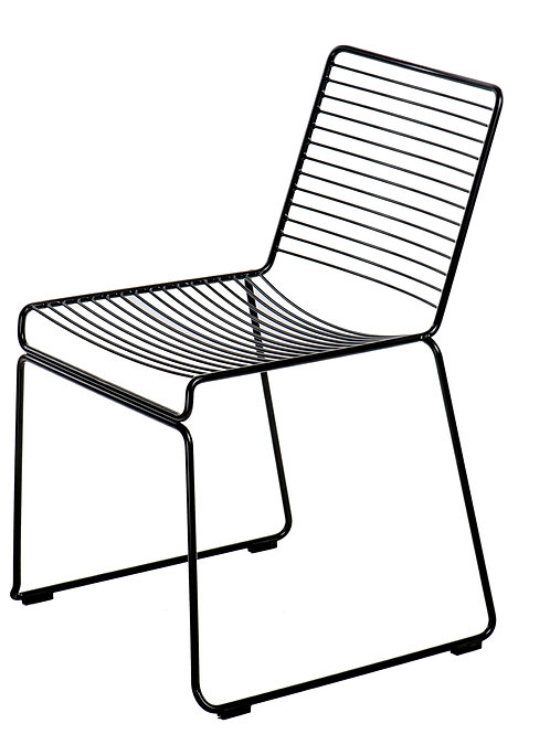 Krzesło czarne ażurowe Artol 11