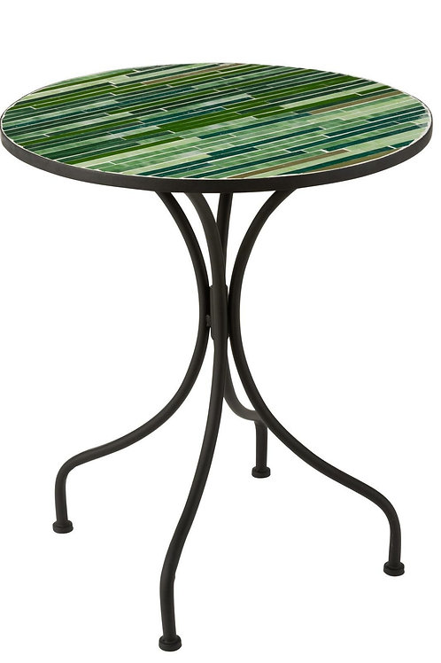 Zielony stół szklany Art Glas