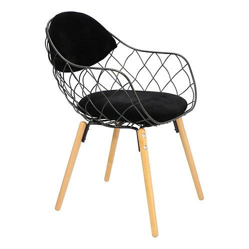 Krzesło czarne Elza