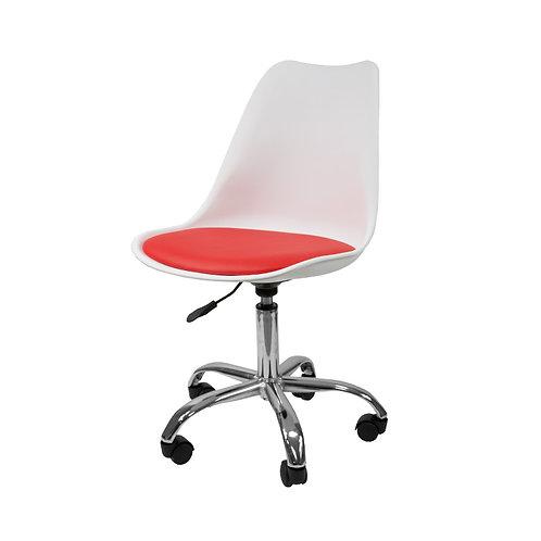 Krzesło biurowe  obrotowe Białe 6