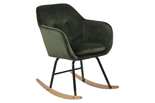 Fotel zielony  bujany Mami 33