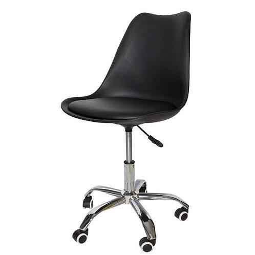 Krzesło biurowe czarne Józefina