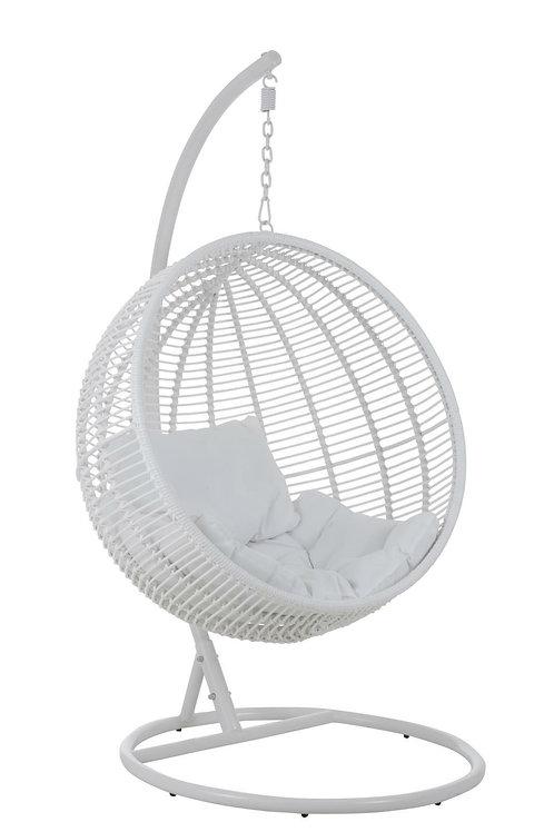 Fotel wiszący biały Amanda 44