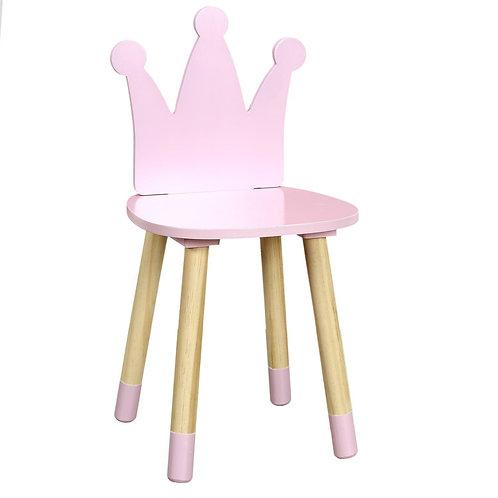 Krzesło różowe  dziecięce Princess 1