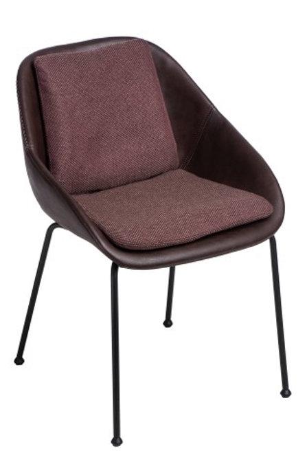 Krzesło Pier -  brązowe ciemne