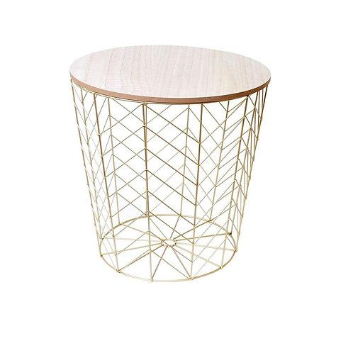 Stolik okrągły złoty  Arti 22