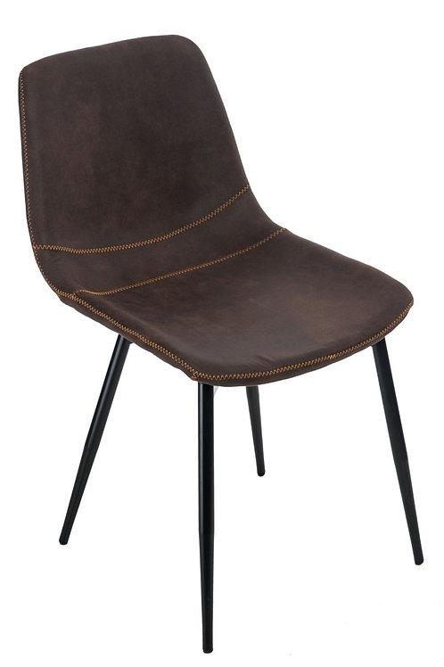 Krzesło Weronik 2  - brązowe ciemne
