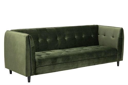 Sofa Amelia rozkladana zielona  235 cm