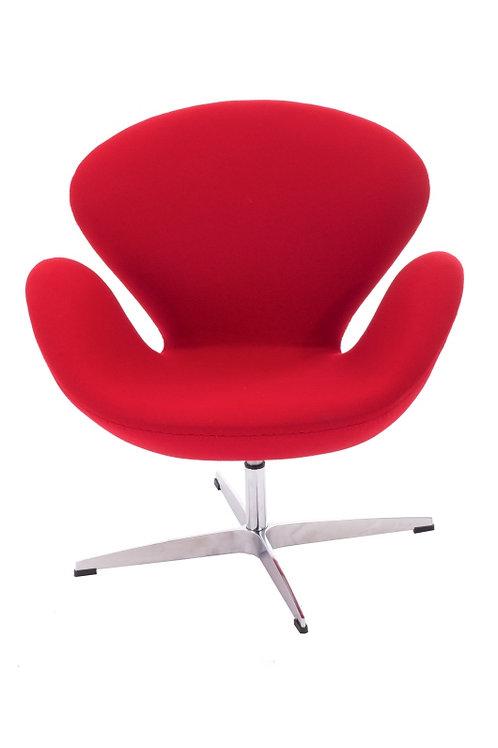 Fotel Tulip czerwony