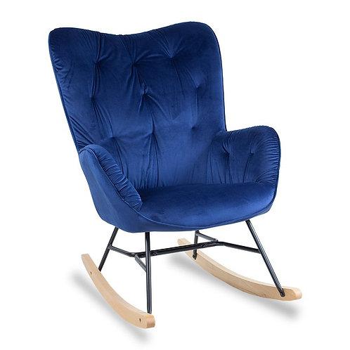 Fotel  bujany granatowy  Anabela 3