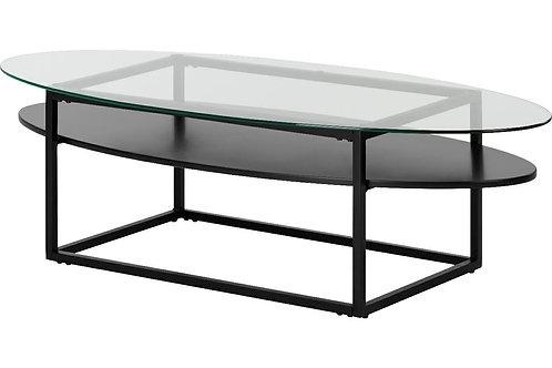 Stolik szklany owalny 140 cm