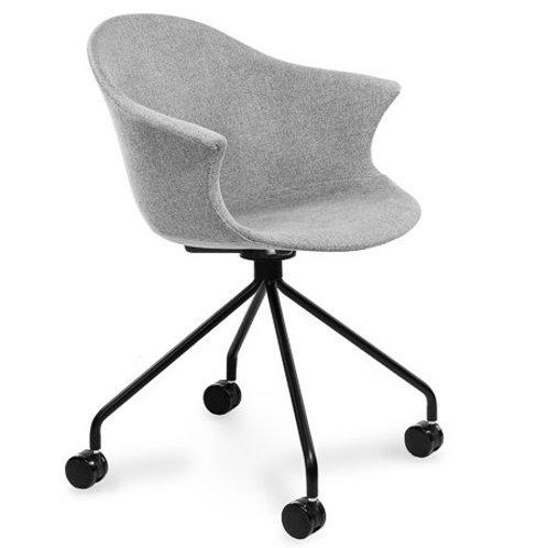 Krzesło tapicerowane szare