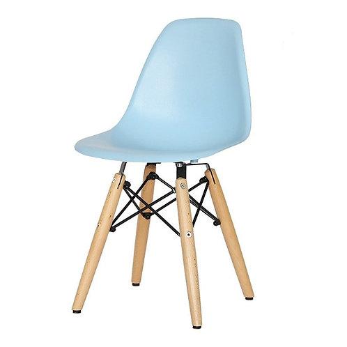 Krzesło dziecięce  niebieskie     - Charles