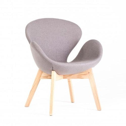 Fotel szary Arianka 1