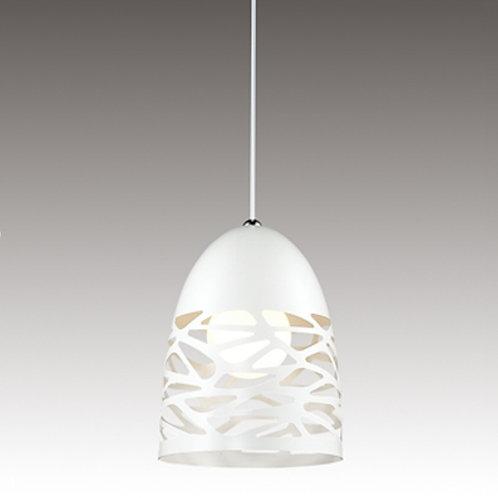 Lampa ażurowa biała