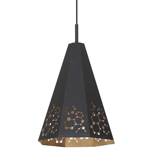 Lampa ażurowa - Octagon Black