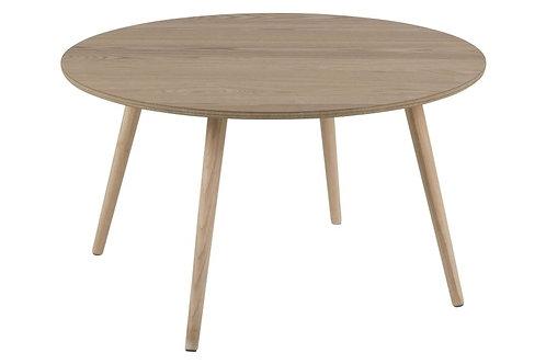 Stolik - drewno kauczukowe 80 cm