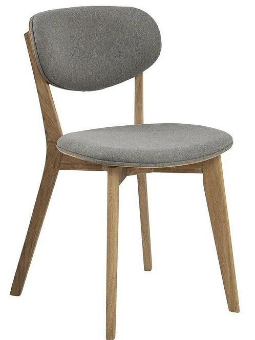 Krzesło  Apollo   szare/ dąb