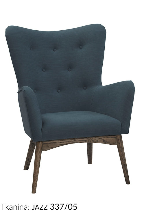 Fotel pikowany  Londyn 3 - różne kolory