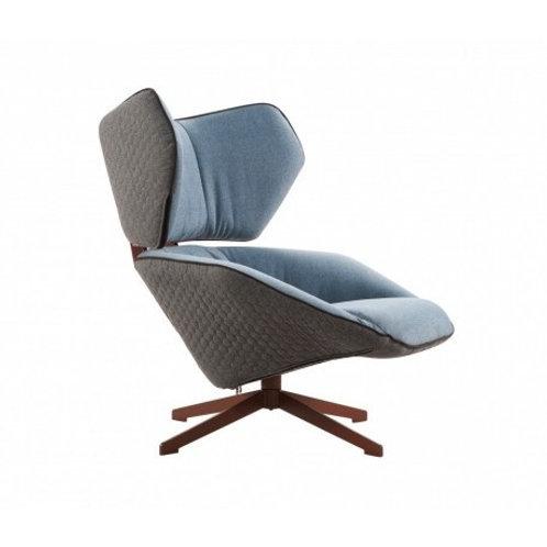 Fotel niebieski Luxury Blue 3