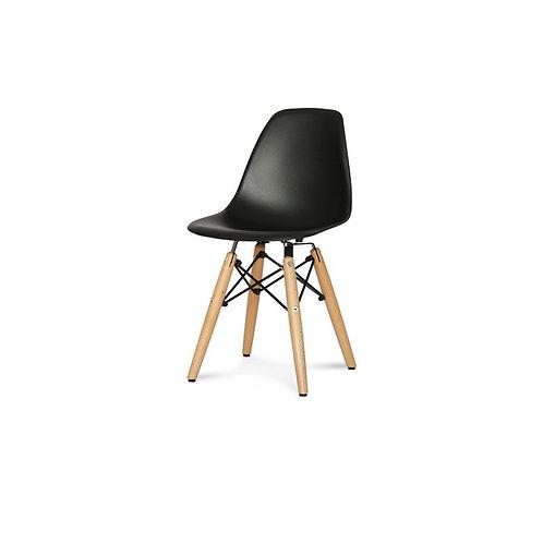 Krzesło dziecięce  czarne    - Charles