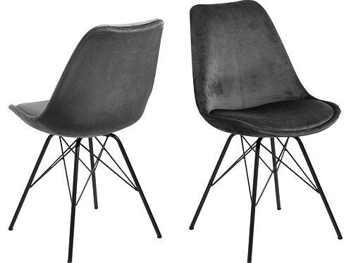Krzesło velurowe Amanda 111