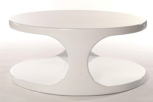 Designerski stolik 8  - biały