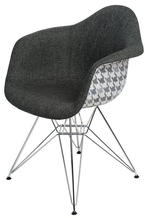Krzesło Big Charles Steel - Pepitka