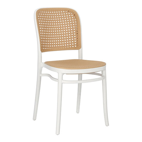 Krzesło stylizowane Antonina białe 1
