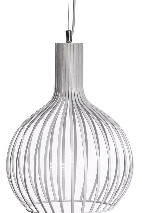Lampa ażurowa - biała