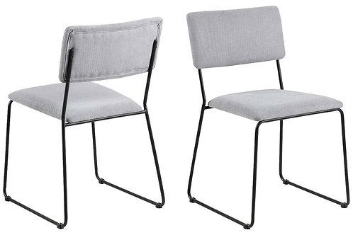 Krzesło szare Rozi 2
