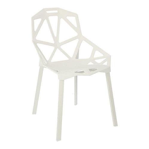 Krzesło białe  nowoczesne Jowisz