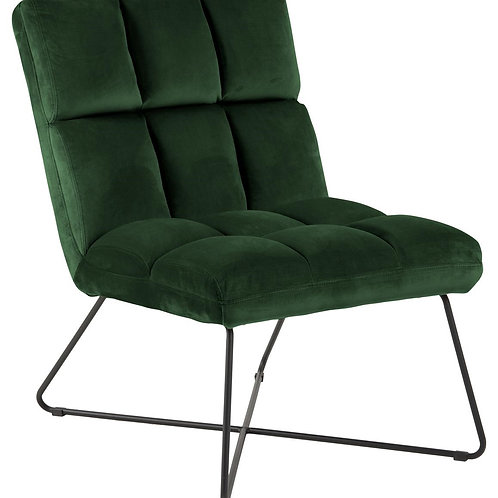 Fotel  welurowy brudny zielony Florencja 332