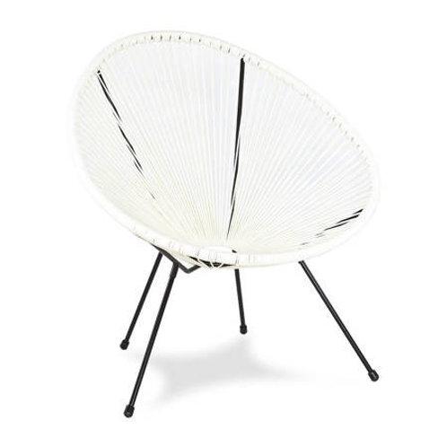 Fotel biały designerski  Arton 1