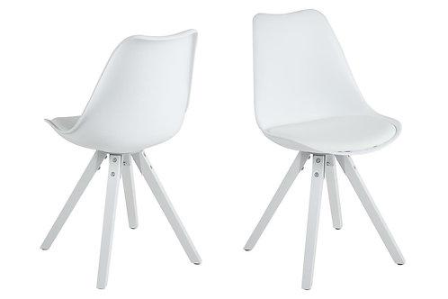 Krzesło białe  Fabian 28