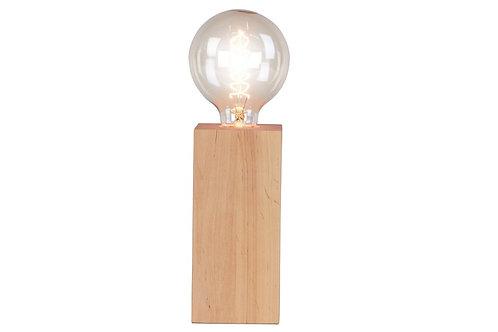 Lampa stołowa drewniana 18 cm