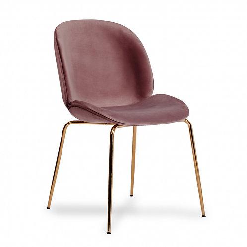 Krzesło różowe Milena 33