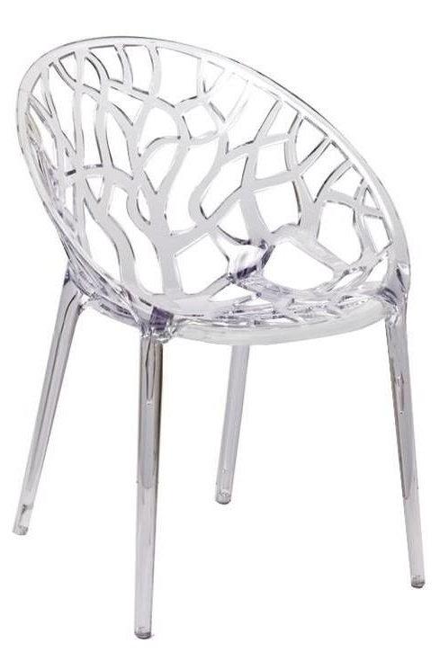 Krzesło Catalina  transparentne