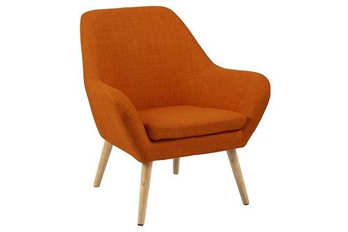 Fotel pomarańczowy Pablo 2